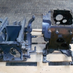 REAR AXLE HΟUSING AND HYDRAULIC FENDTLIFT